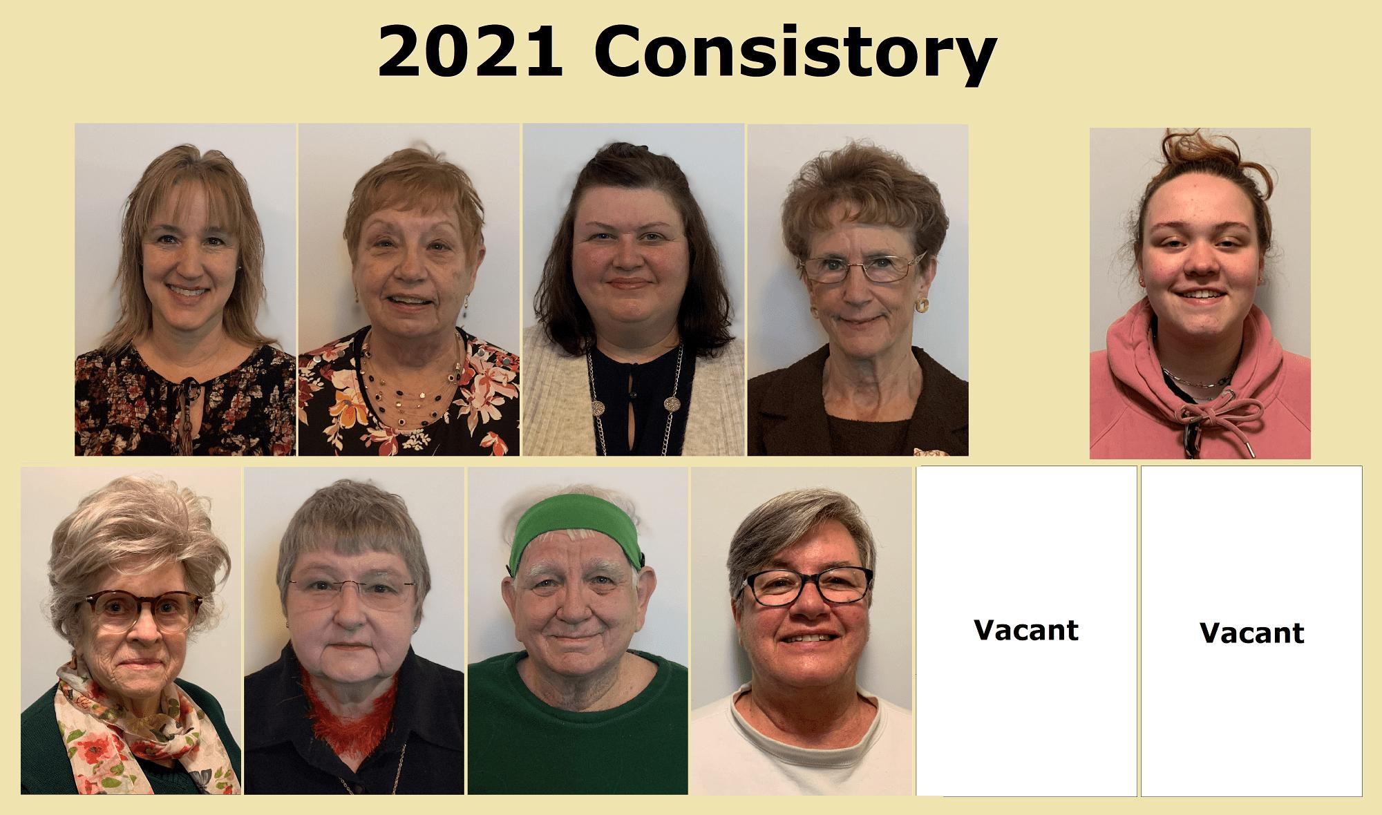 Photo of 2021 Consistory